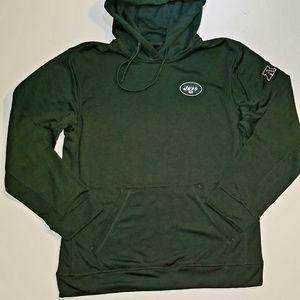 NFL New York Jets Men's Tech Fleece Hoodie, Medium